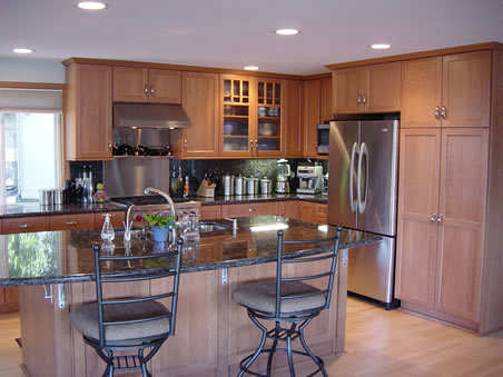 Custom Home Kitchen Remodeling Tacoma New Pioneer Woodshop