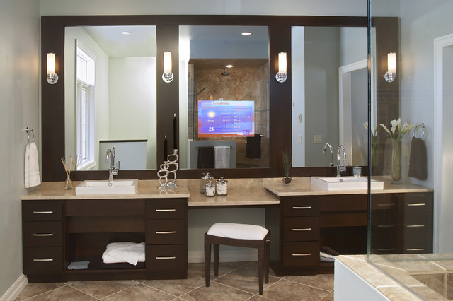 custom bath vanity ideas custom bathroom vanity ideas north tacoma remodeling - Bathroom Cabinets Tacoma